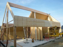 Construction en bois de structure